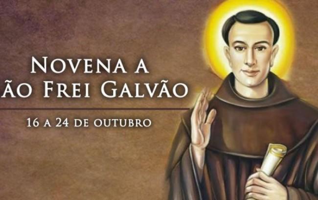 Hoje começa a novena a Santo Antônio de SantAnna Galvão
