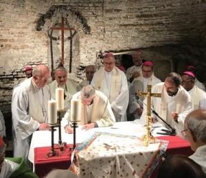 Aniversário do segundo ano do Pacto das Catacumbas pela Casa Comum